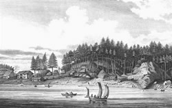 Spanish settle at Neah Bay